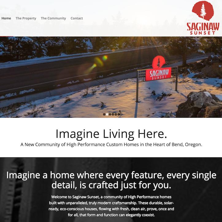 Saginaw Sunset Homepage
